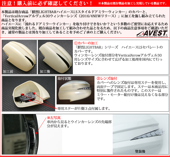 AV-013-1P注意事項
