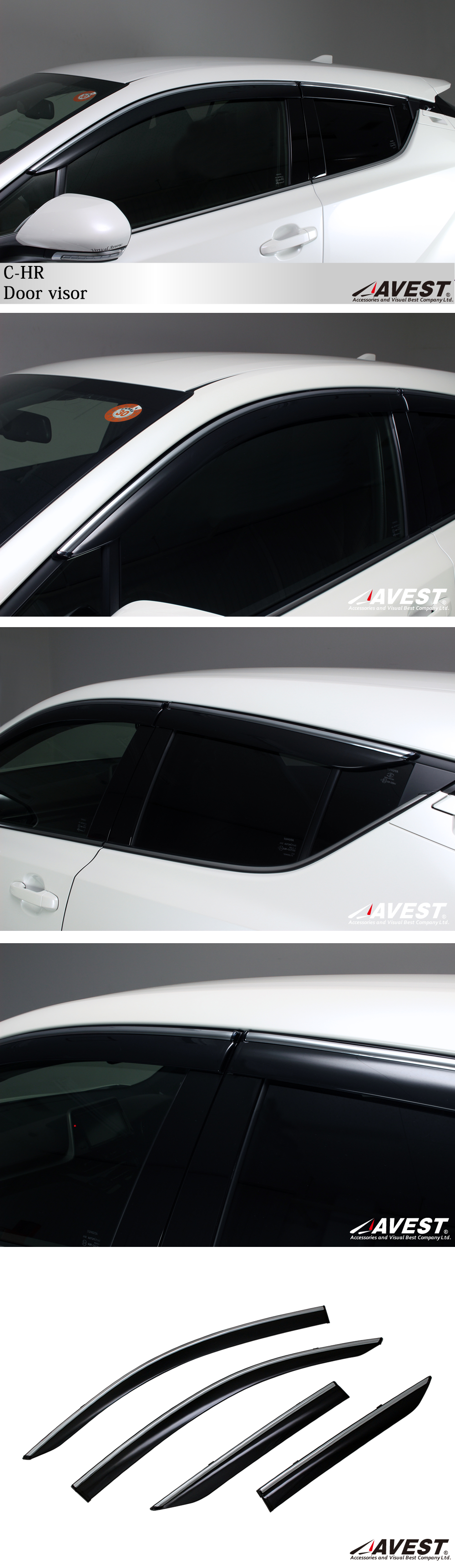 TOYOTA/C-HR/NGX50/ZYX10/テールランプ/ガーニッシュ/トヨタ/外装/メッキ/パーツ