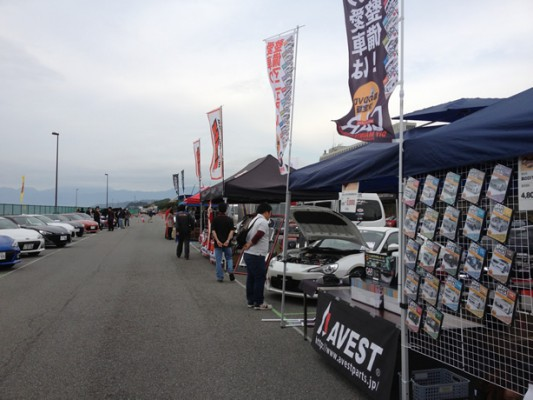 AVEST OPTION CARAVAN 2012 in 大磯ロングビーチ