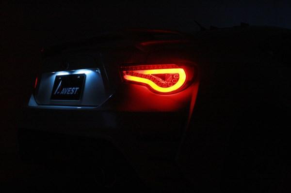86 brz LED テールランプ